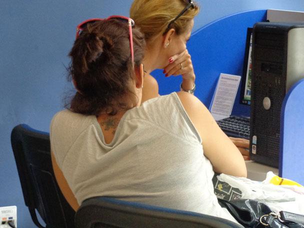 Fotos: Conozca las salas de servicio público de acceso a Internet que funcionaran en Cuba Sala