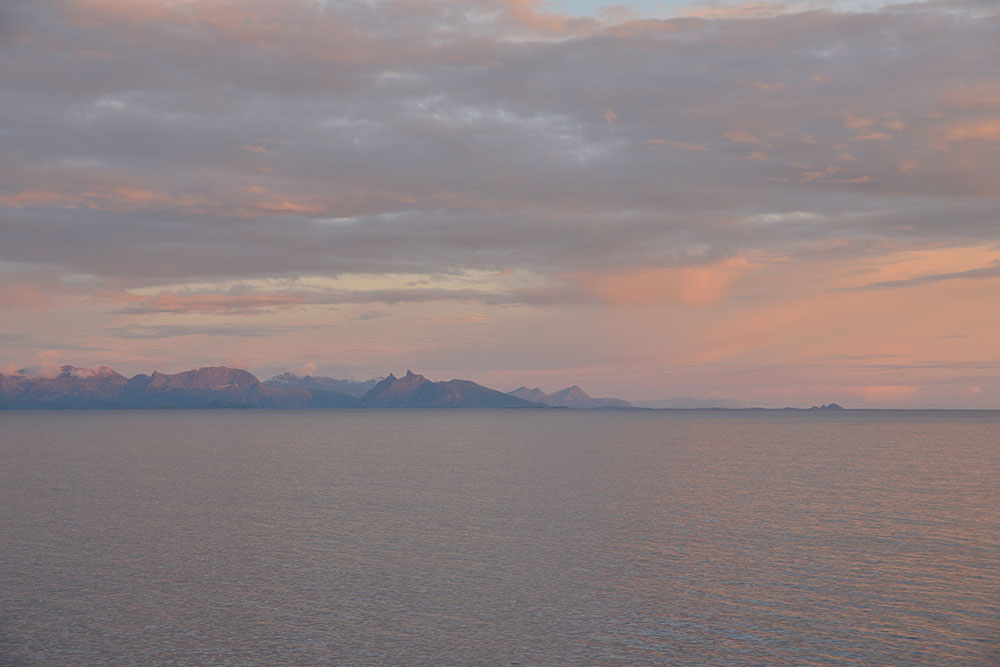 Un petit air de soleil de minuit Norvège 1005