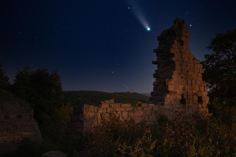 Lorsque la comète Néowise s'invite dans le ciel alsacien 8224