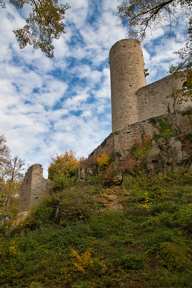 Andlau le château 3992