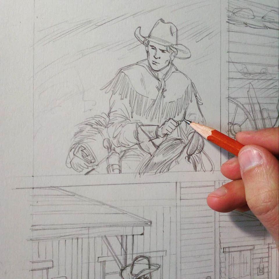 News e anticipazioni (Terza parte) - Pagina 23 O-jovem-Tex-Willer-a-ser-desenhado-por-Marco-Ghion-para-uma-hist%C3%B3ria-em-proidu%C3%A7%C3%A3o