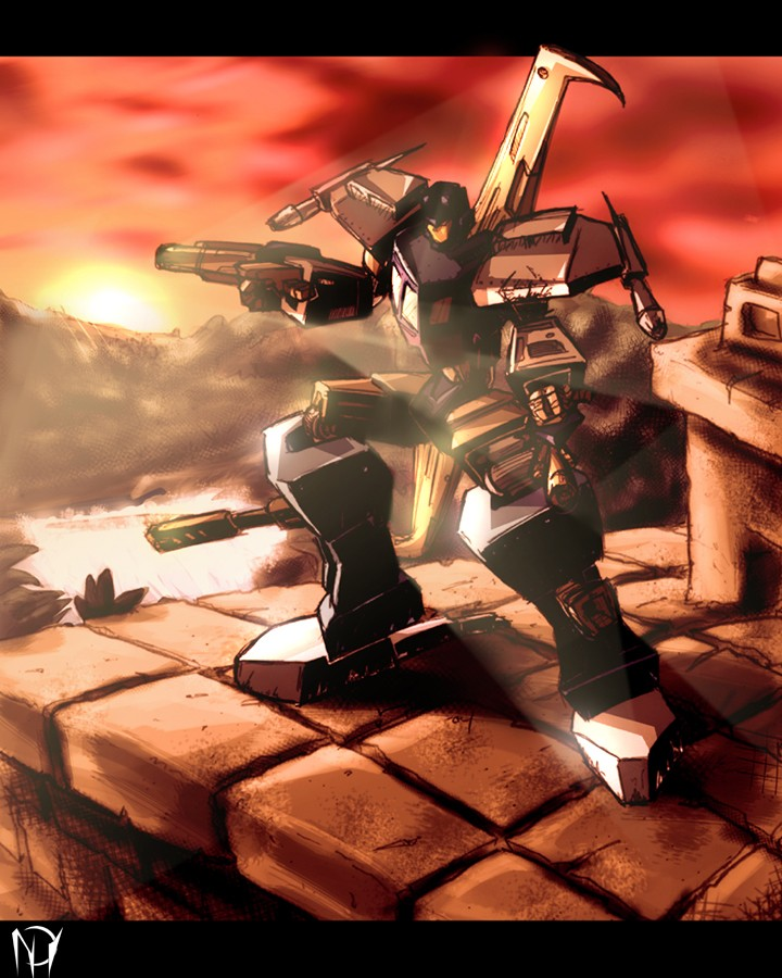 Armada: Personnages du déssin-animée JoshSunset_Deathmachine