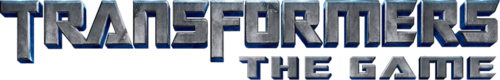 [Jeu vidéo] Films Transformers - The Game | Revenge of the fallen | Dark of the Moon | Rise of the Dark Spark | etc 500px-Tfgame2007_logo