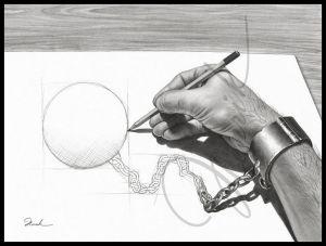 مــن قــدك .. المايـــك بيـــدك  - صفحة 3 Prisoner_of_my_own_by_shimoda7