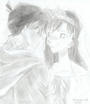Shinichi-Ran Shinichi_x_Ran_by_yoshimi_san