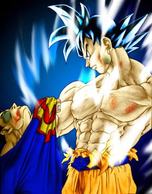 post a pic of yourself  Goku_vs__Superman_by_SouthernDesigner