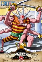 Cards de One Piece One_piece___hatchan_by_onepieceworldproject-d81rnti