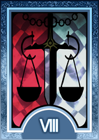 ♡ My homeboys and homegirls ♡ Persona_3_4_tarot_card_deck_hr___justice_arcana_by_enetirnel-d6xr783