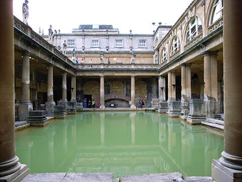 Le Topic des Aventuriers-Explorateurs Roman-baths-city-of-bath