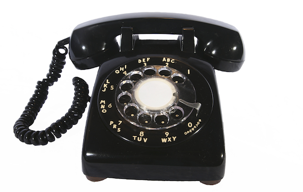 Do you remember? #2  Rotary-phone