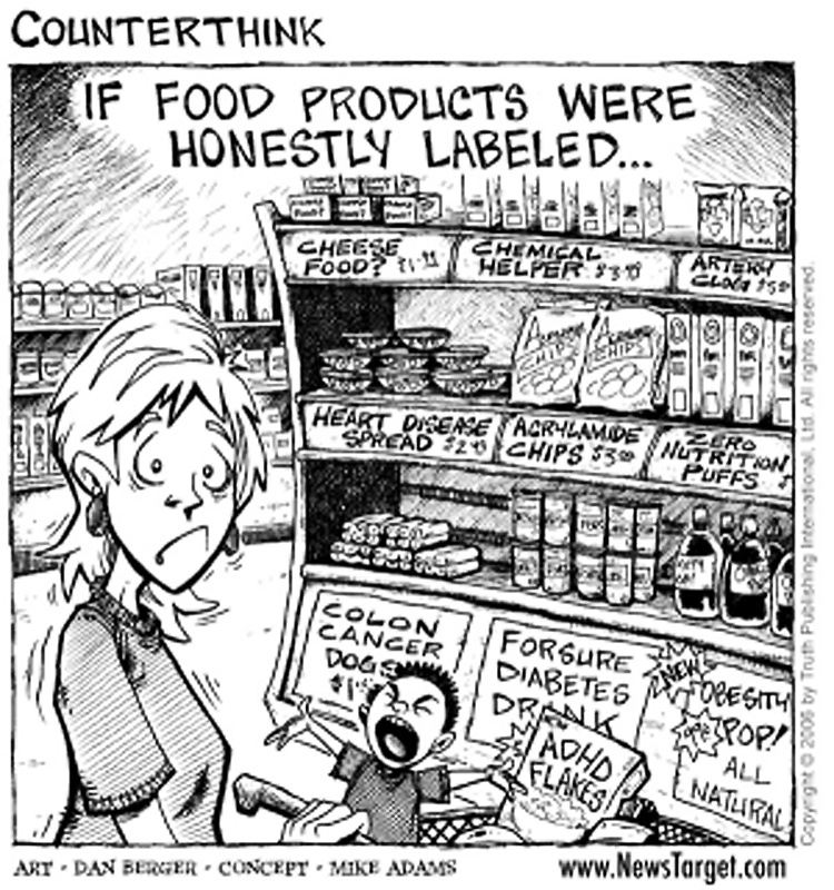Battle for humanity nearly lost: global food supply deliberately engineered to end life, not nourish it Avoid-Food-Additives-on-the-Alzheimers-diet