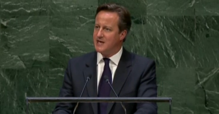 UK Prime Minister Thinks 9/11 Truthers Should be Eradicated by the UN Cameron