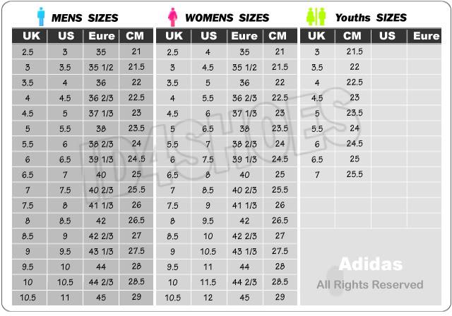 Hilo sobre zapatillas ADIDAS Adidas-size-chart