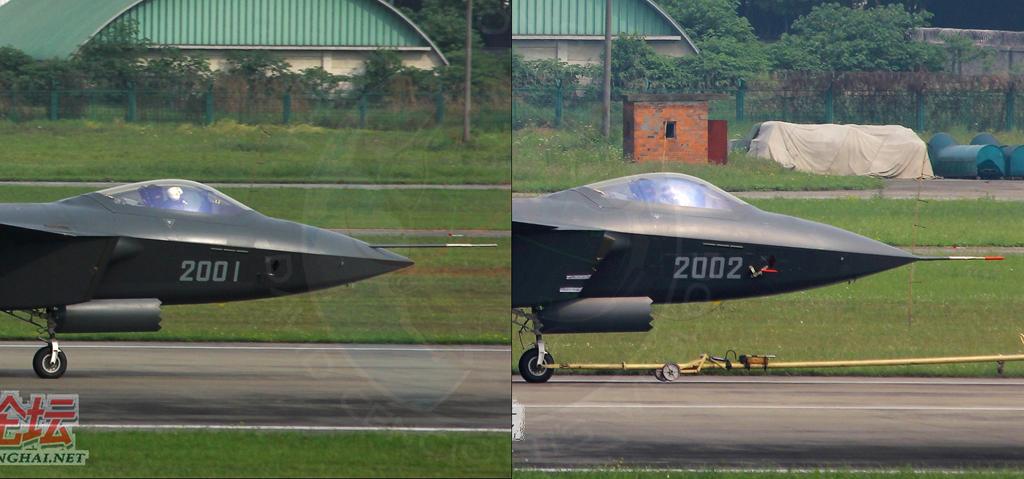 المقاتلة الصينية J-20 Mighty Dragon المولود غير الشرعي Details