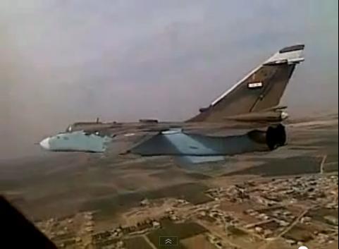 Otra vez Israel derriba un avion Sirio. Syrian-Su-24