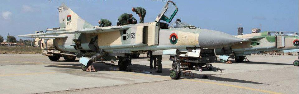 المقاتله Mig-23 Flogger المخضرمه  Mig-23-FLAF