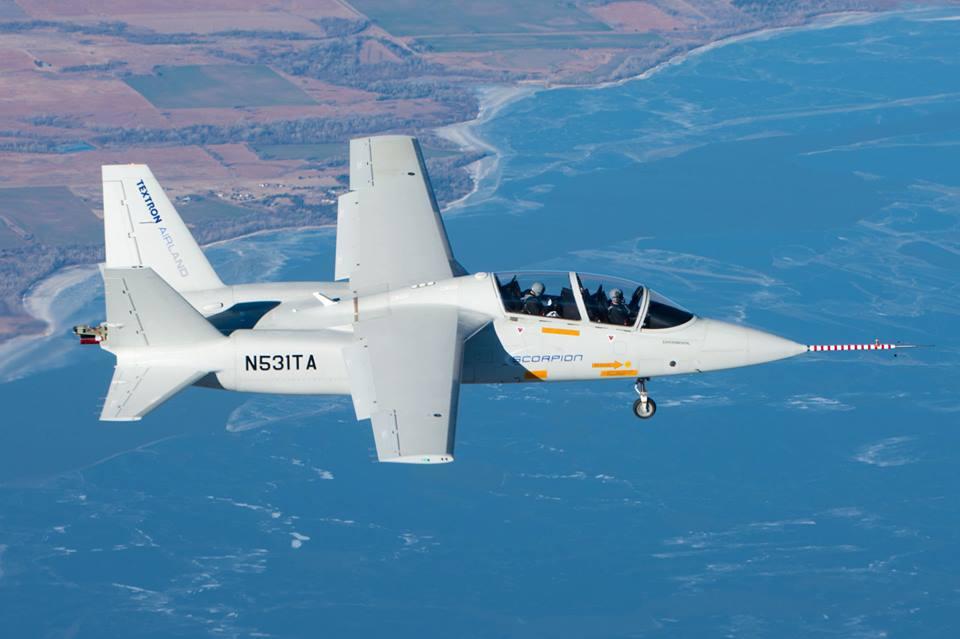 Aviacion del Ejercito Scorpion-first-flight