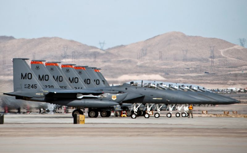 US Air Force - USAF - Page 40 F-15E-lineup