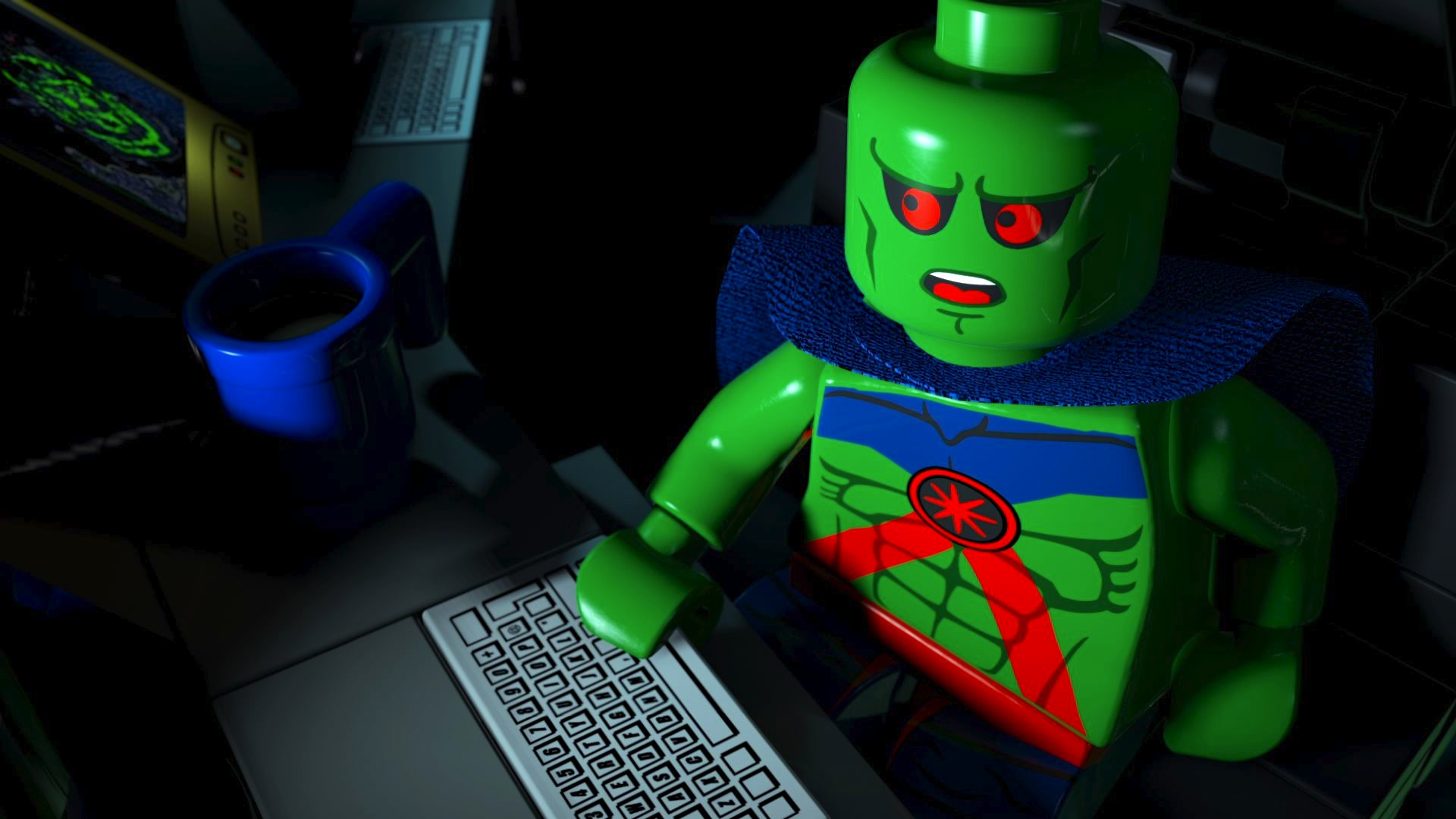 [ANIMACIÓN] Lego DC Comics 30_Martian_Manhunter
