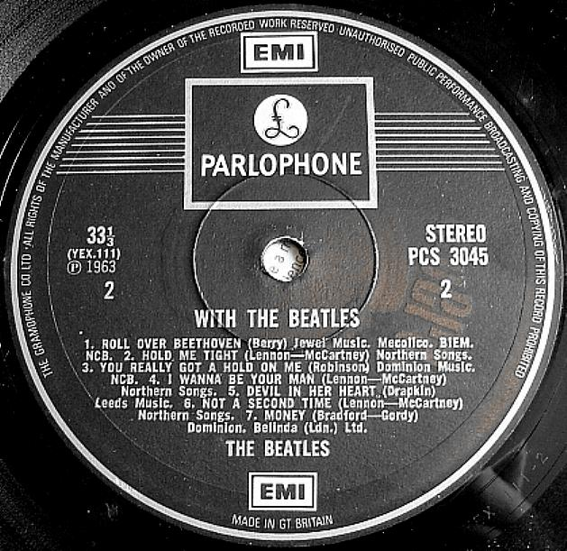 With The Beatles  WTB-1973-Emerald-B
