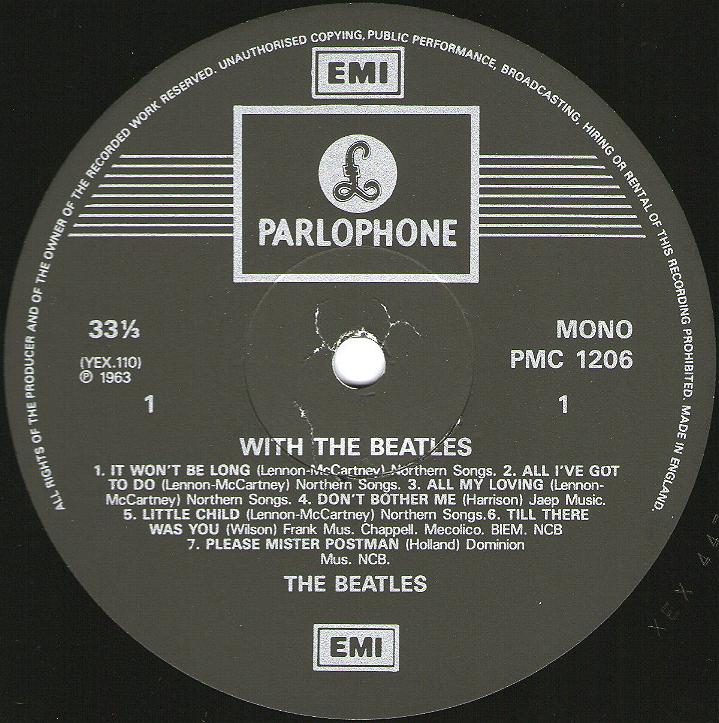 With The Beatles  2.-WTB-1987-A