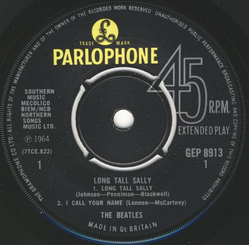 Long Tall Sally GEP-8913-1969-A