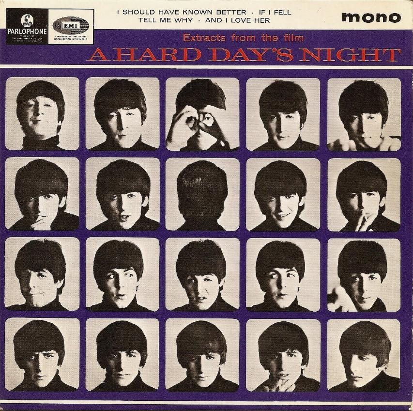 """Extract From The Film """"A Hard Day's Night"""" GEP-8920-1st-GL-Sleeve-A"""