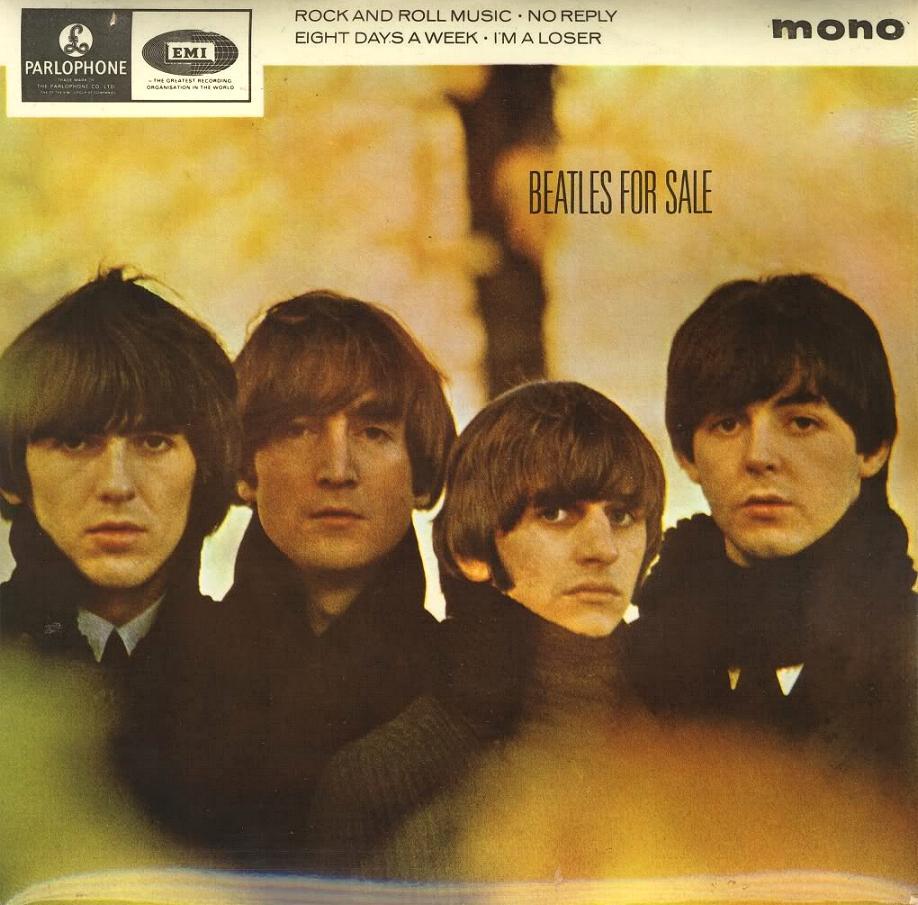 Beatles For Sale GEP-8931-1st-Buckland-Sleeve-A