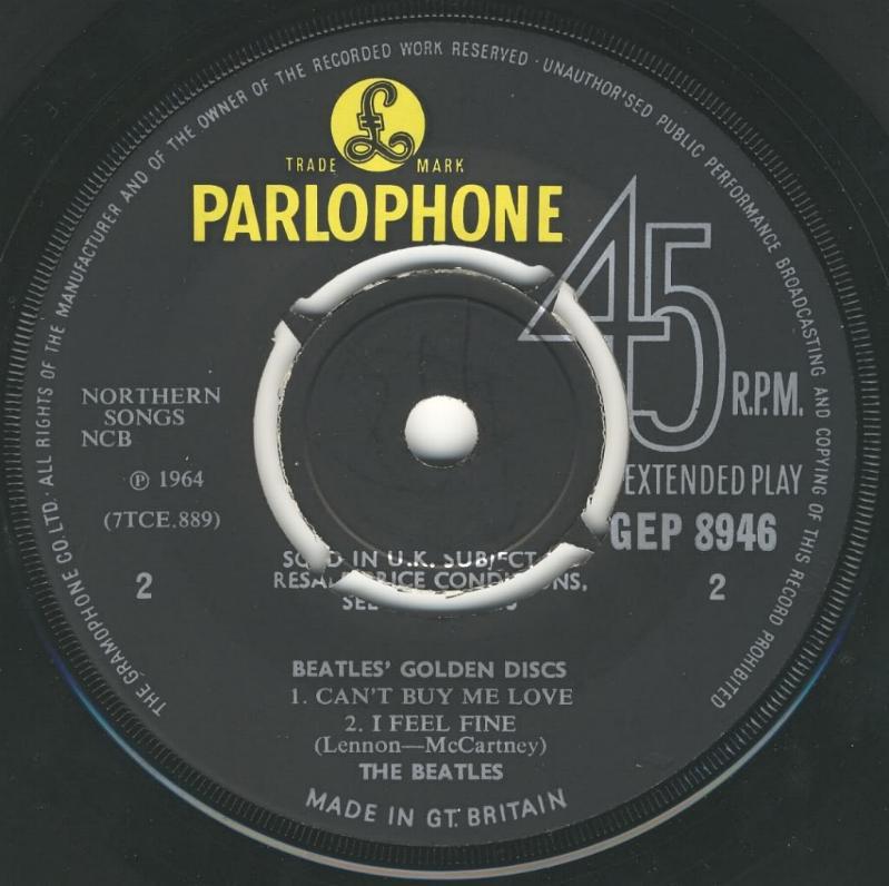 The Beatles' Million Sellers GEP-8946-1st-Decca-B