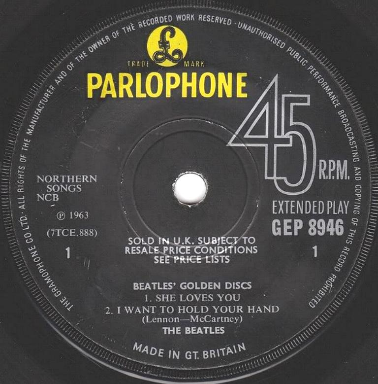 The Beatles' Million Sellers GEP-8946-1st-V2-A