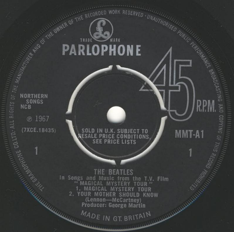 Magical Mystery Tour (Mono) MMT-1st-V1-A