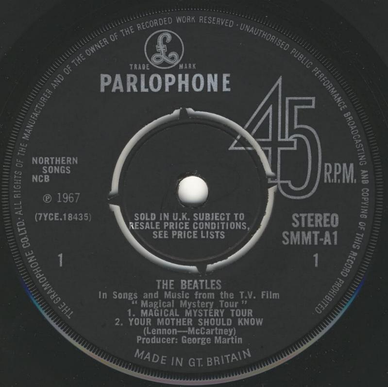 Magical Mystery Tour (Stereo) SMMT-1st-V1-A