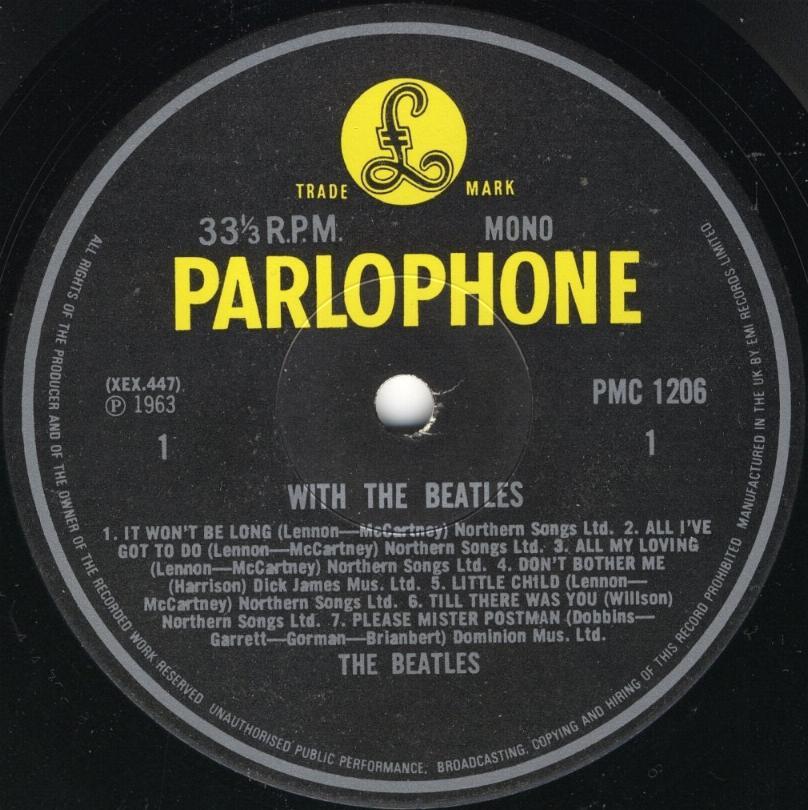 With The Beatles  2.-WTB-1982-BW-Mono-01