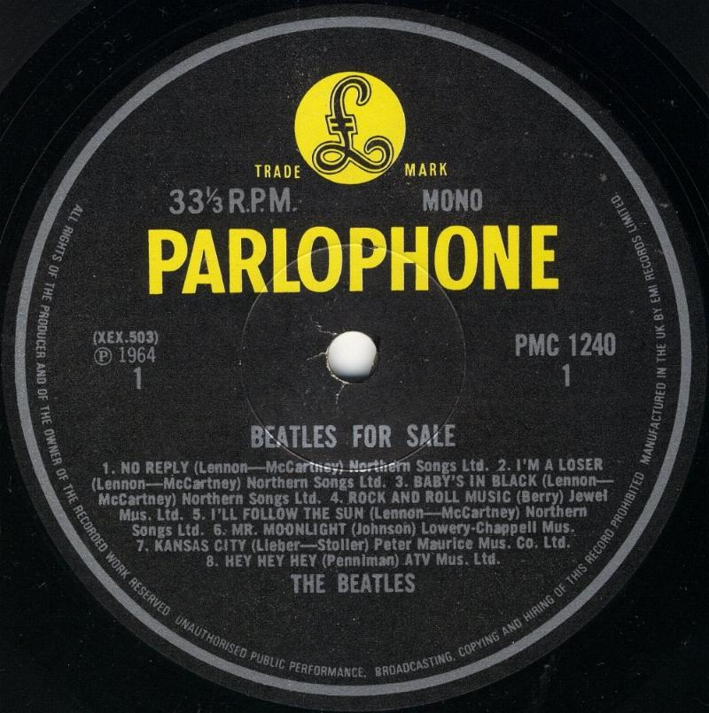 Beatles For Sale  4.-BFS-1982-BW-Mono-01