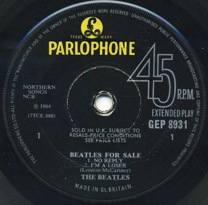 Beatles For Sale Img504