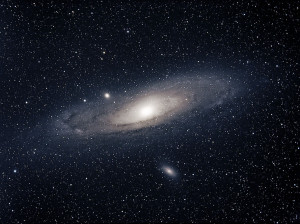 Nothing is the thing that stones think of Andromeda-300x224