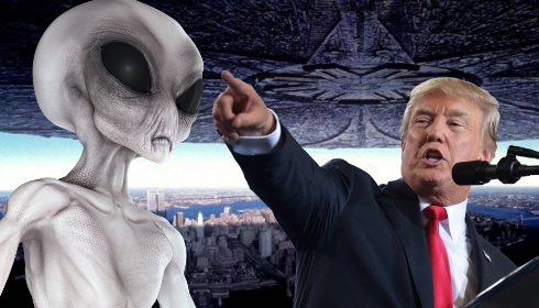 Дональд Трамп намекает на скорое появление в Белом доме инопланетян? TheBigTheOne.com_1216