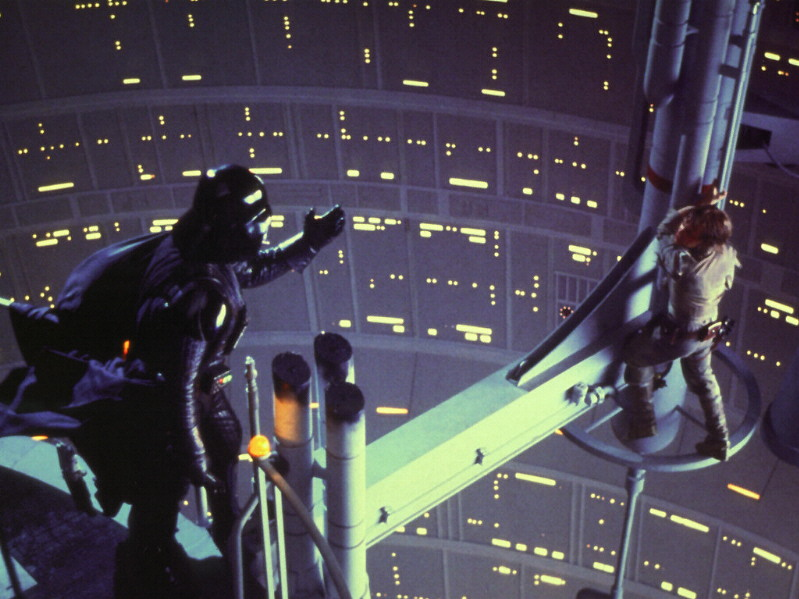 Le sondage pour un diorama de darth vader ! Father-and-son