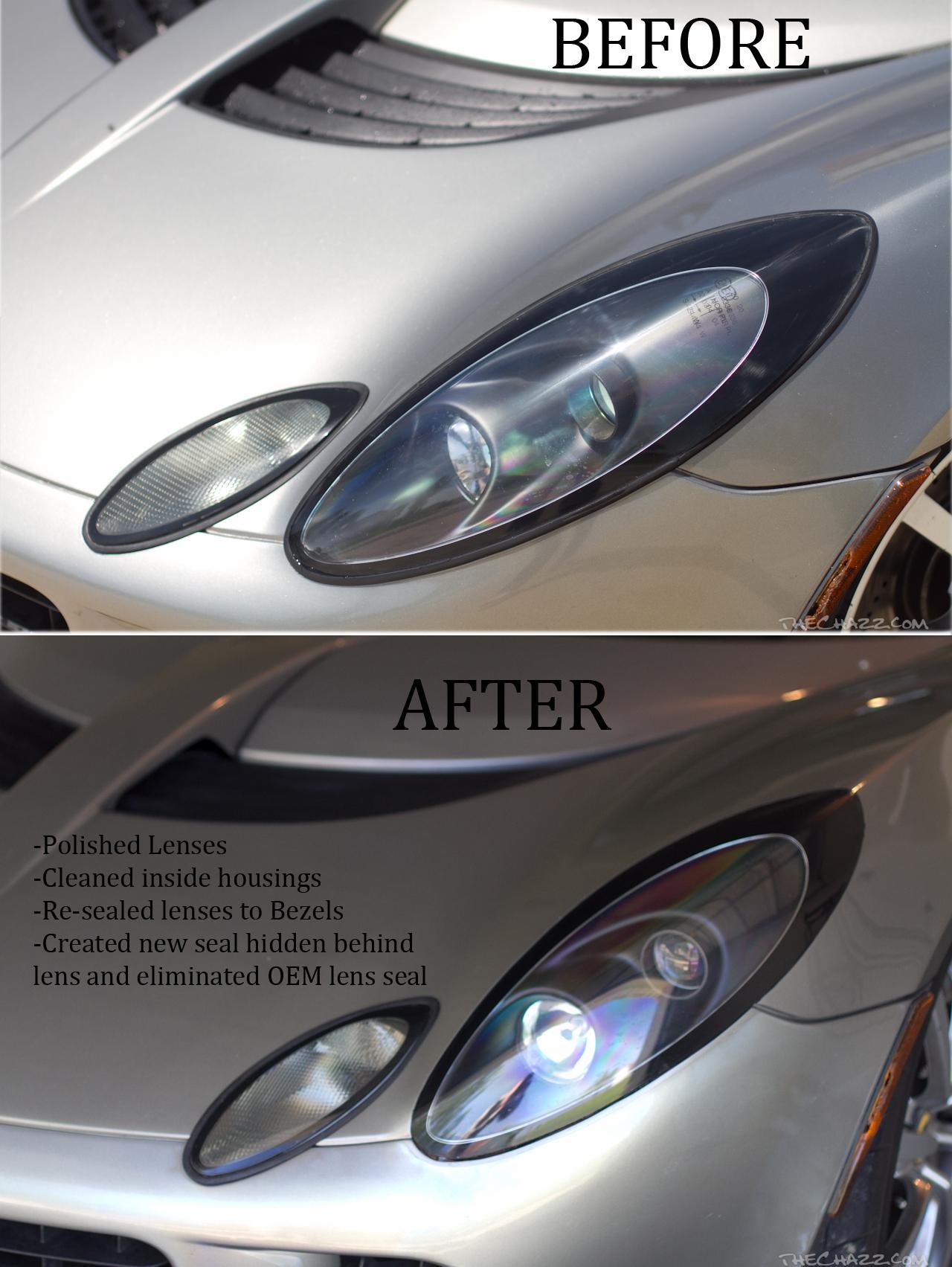 Fari Lotus Varie ed eventuali!! Headlight-mods
