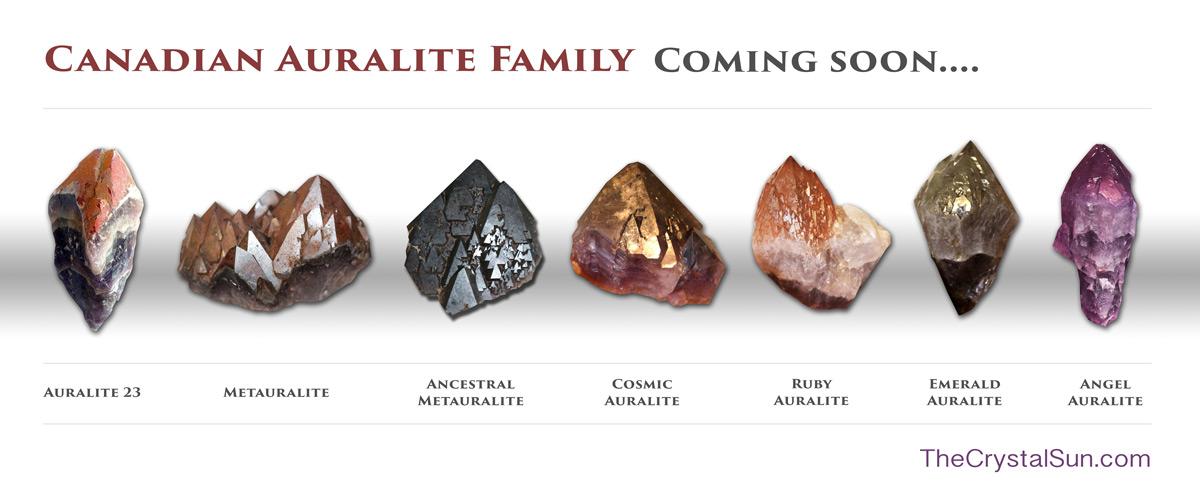 Jason Quitt: Awakening To Crystal Healing Auralite-Family
