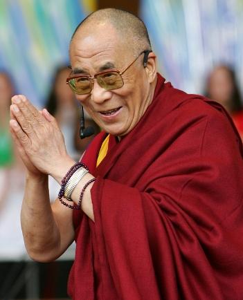 Bouddhisme et Actu: Le Dalaï Lama contre le Karma noir Dalai-lama