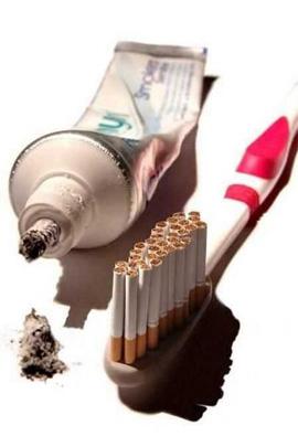 Anti-Smoking Advertisements Cigarette-toothbrushing-v