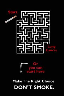Anti-Smoking Advertisements Lung-cancer-maze-v