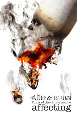 Anti-Smoking Advertisements Smoking-ash-burn-v