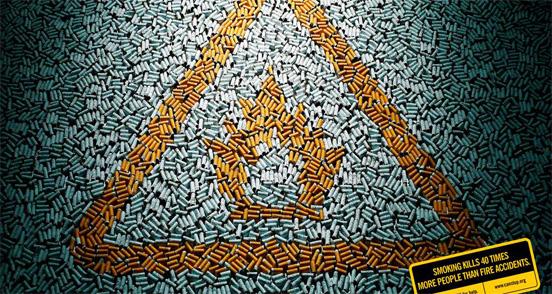 Anti-Smoking Advertisements Smoking-kills-fire-l