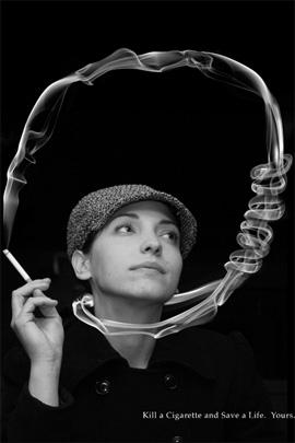 Anti-Smoking Advertisements Smoking-kills-hang-v