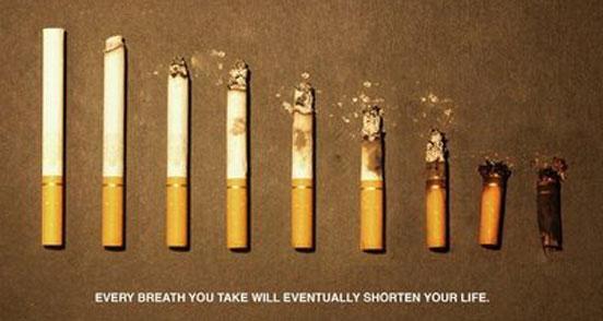 Anti-Smoking Advertisements Smoking-shorten-life-ll