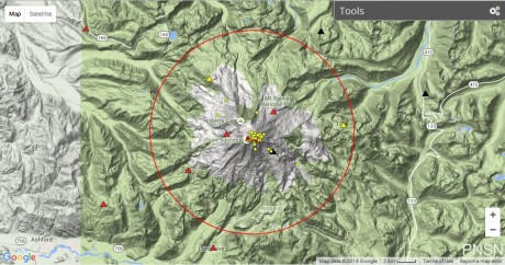40 Volcanoes Are Erupting Right Now As The Crust Of The Earth Becomes Increasingly Unstable Mt.-Rainier-Today-460x242