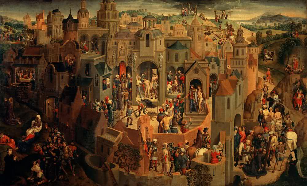 A Woman's Justice During the Reign of Charles the Bold Medieval-town