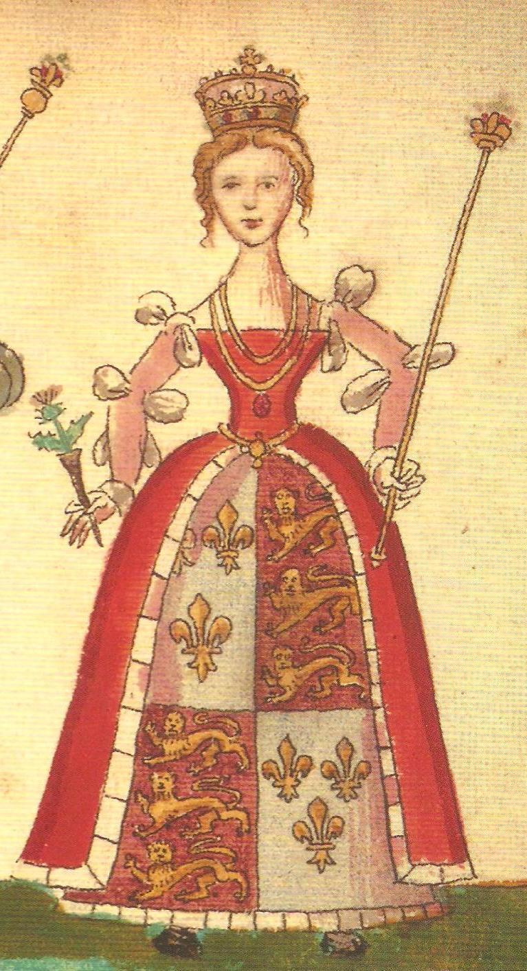 Joan Beaufort, Queen of Scotland Beaufortforemansroll